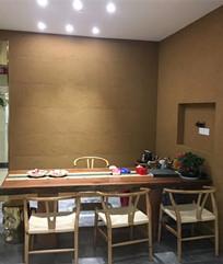 茶室-夯土