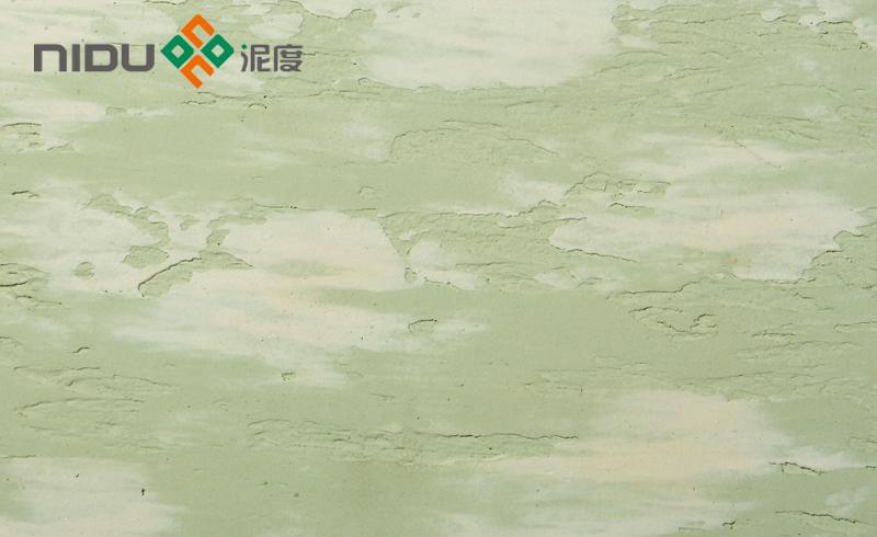 硅藻泥|硅藻泥图片|泥度硅藻泥蓝天白云效果图案